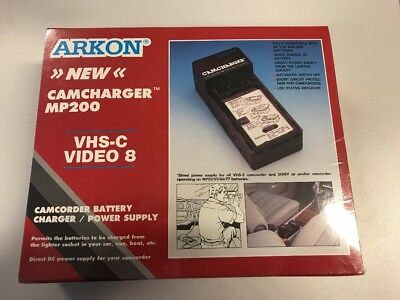 Arkon Camcharger MP200 NEW NOS For VHS-C & Video8