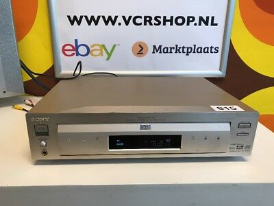 Sony DVP-S7700 CD/DVD Player DTS Digital Out