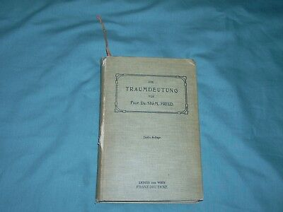 Die Traumdeutung by Dr. Sigmund Freud, the important 1911 3rd Revised edition