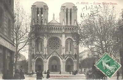 Carte Postale - (06) Alpes Maritime - CPA - Nice - Eglise Notre Dame