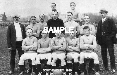 Southend FC 1919 Team Photo