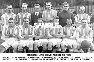 Brighton and Hove Albion FC 1929 Team Photo