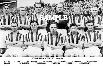 Coventry City FC 1949 Team Photo