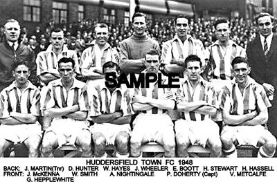 Huddersfield Town FC 1948 Team Photo