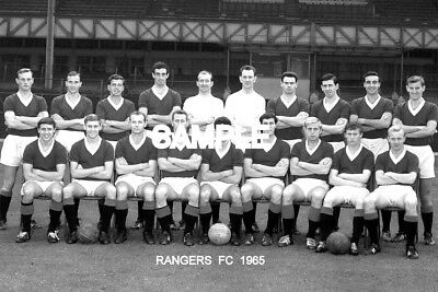 Rangers FC 1965 Team Photo