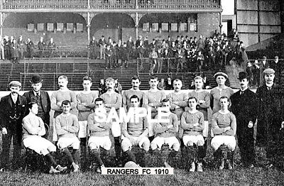 Rangers FC 1910 Team Photo