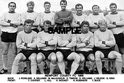 Newport County FC 1968 Team Photo