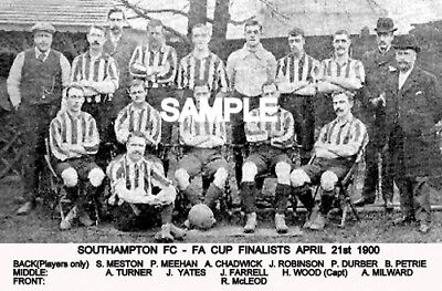 Southampton FC 1900 Cup Team Photo