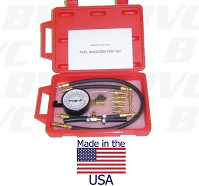 Made In USA - Fuel Injection Pressure Tester - For Japanese & US Vehicles