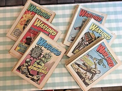 60 Editions of WARLORD. 1980 / 1981 / 1982. Only 7 missing from full set of 1981