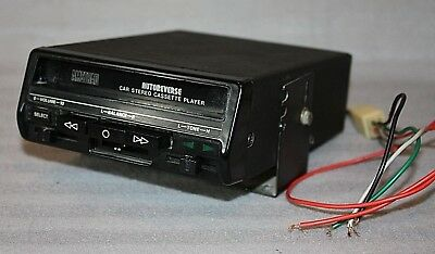 Early Vintage Amstrad car Stereo Cassette Player 1970's, working