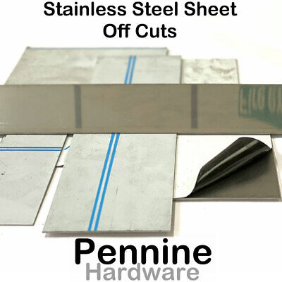 STAINLESS STEEL SHEET Off Cuts  Grade 430 Bargain Be Quick New to good to scrap