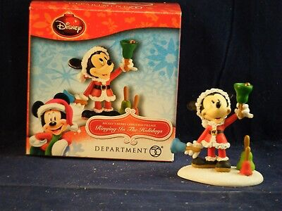 """D56 Mickey's Merry Christmas Village """"Ringing In the Holidays"""""""
