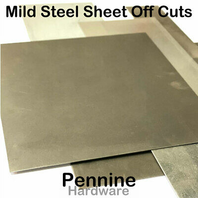 MILD STEEL SHEET Off Cuts  Bargain ££ Be Quick New Steel Pieces to good to scrap