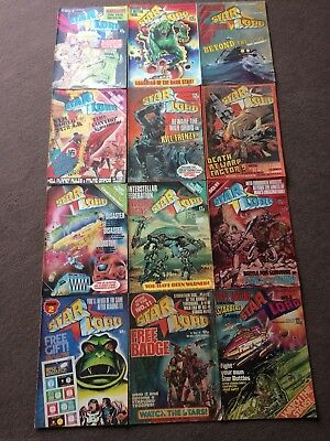 12 x 1978 STARLORD Comics Including Issue 1.