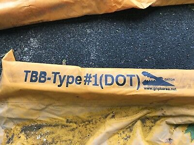 Used GATOR Brand DOT Type 1 Turbidity Barrier / Silt Curtain, 5 ft x 50 ft
