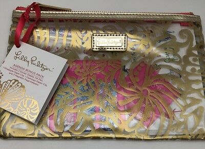 Lilly Pulitzer Pencil Pouch in Beach Haven, New Agenda & Planner Accessory