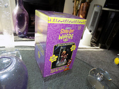 NEW! 2000 Scooby-Doo Light-Up Figurine 1st in Series Numbered in Box with COA