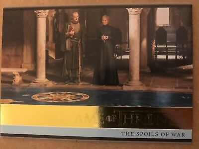 Game Of Thrones - Season 7: Gold Parallel Base Card: Card 10
