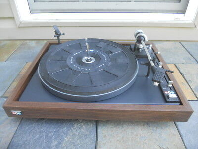 Vintage BIC Model 940 Multiple Play Manual Turntable, Nice, One Owner, No Cover