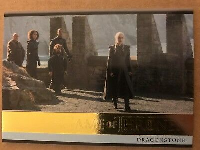 Game Of Thrones - Season 7: Gold Parallel Base Card: Card 03