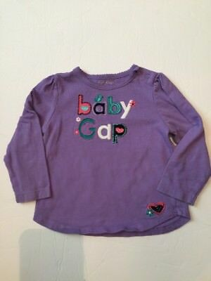 Baby Gap 12-18 month Purple Top Girl