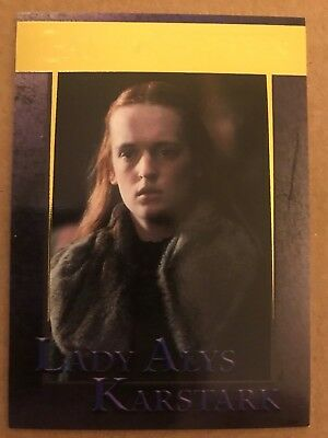 Game Of Thrones - Season 7: Gold Parallel Base Card: Card 72 - Lady Alys