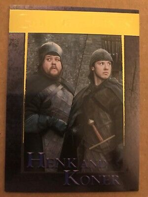 Game Of Thrones - Season 7: Gold Parallel Base Card: Card 73 - Henk And Koner