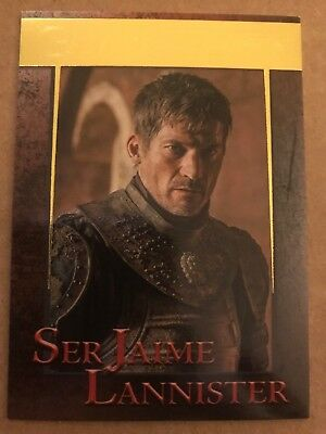 Game Of Thrones - Season 7: Gold Parallel Base Card: Card 23 - Jaime Lannister