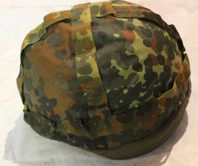 US military ballistic helmet with camo camouflage cover PASGT Unicor M L