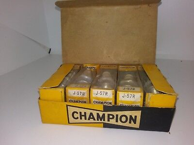 case of vintage champion spark plugs