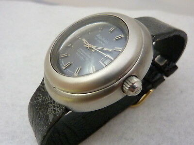 PHILIPWATCH CARIBBEAN 500 HI SWING DIVERS TOOL WATCH  ULTRA RARE BIG VINTAGE 60s
