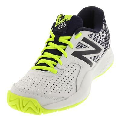 ecc0e0aa6936 NEW BALANCE - Men`s 696v3 D Width Tennis Shoes Hi-Lite and Pigment -  (MCH696H3D- -  64.70