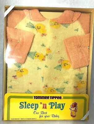 Vintage Tommee Tippee Sleep 'n Play Baby Chick Sleeper Newborn New In Package