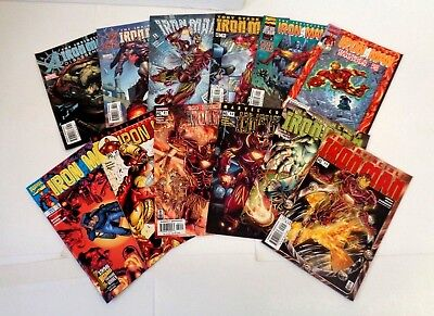 IRON MAN COMIC BOOK LOT - MARVEL COMICS - see more lots on auction! id#CL07