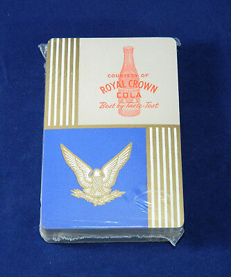 Royal Crown Cola Playing Cards and V for Victory Plaque