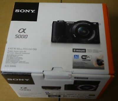 Sony Alpha a5000 Mirrorless 20.1MP Digital Camera Body Only