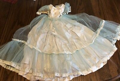 Blue Formal Dress For Cissy Doll By Madame Alexander?