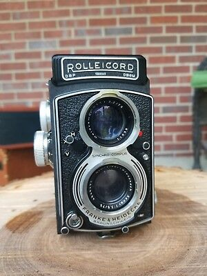 Rolleicord tlr camera Franke & Heidecke  Made in Germany