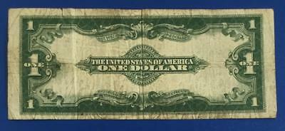 """1923 $1 Blue """"LARGE SIZE"""" SILVER Certificate """"HORSEBLANKET"""" VG X264 Currency"""