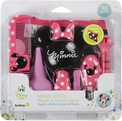 Disney Baby Minnie Health and Grooming Kit, Coral Flowers