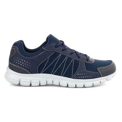 Mens Trainer Lace Up Trainer in Navy by Podium