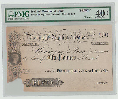 ireland 50 pounds  1841- 69
