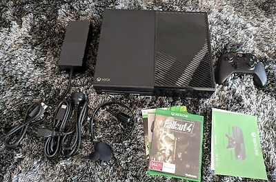 As New Microsoft Xbox One Black 500 GB Console + Fallout 4