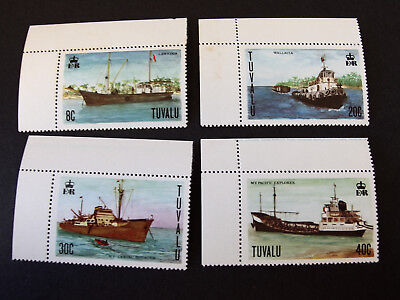 Tuvalu - 1978  - Maritime Heritage - set of four - MNH