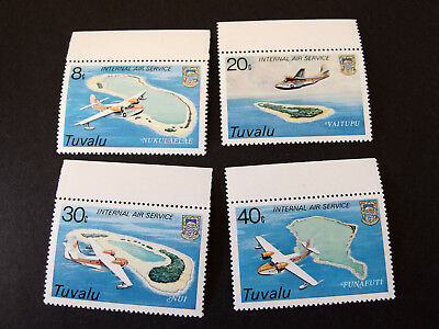 Tuvalu - 1979 - Internal Air Service - set of four - MNH