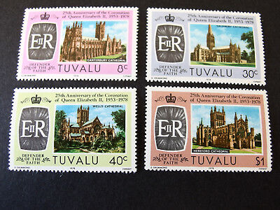 Tuvalu - 1978 - 25th Anniv of the Coronation Queen Elizabeth II - MNH