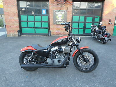 2008 Harley-Davidson Sportster  2008 HARLEY DAVIDSON XL1200 N NIGHTSTER  ORANGE AND BLACK  KUSTOM 14,804 MILES