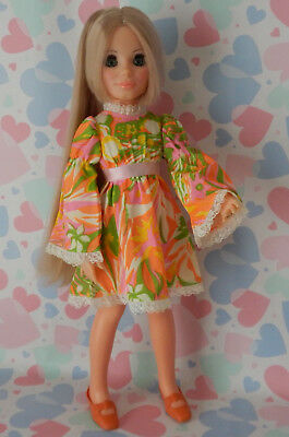 Vintage 1971 Ideal KERRY Doll wearing H/MADE Fashion - Crissy Family