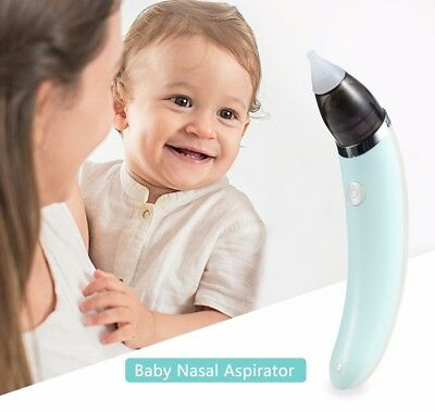 Baby New Born Nasal Aspirator Electric Safe Hygienic Nose Cleaner Snot Sucker
